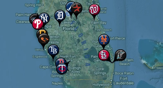 Florida Spring Training Teams - Grapefruit League Schedule